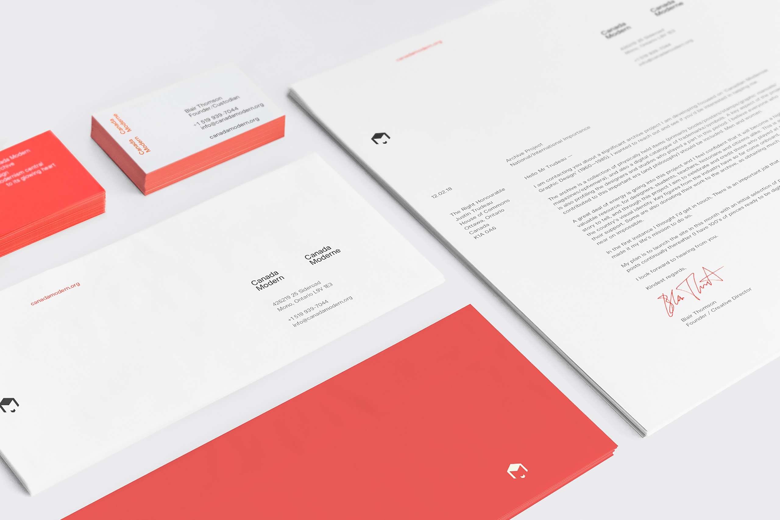 Canada Modern - Identity and website