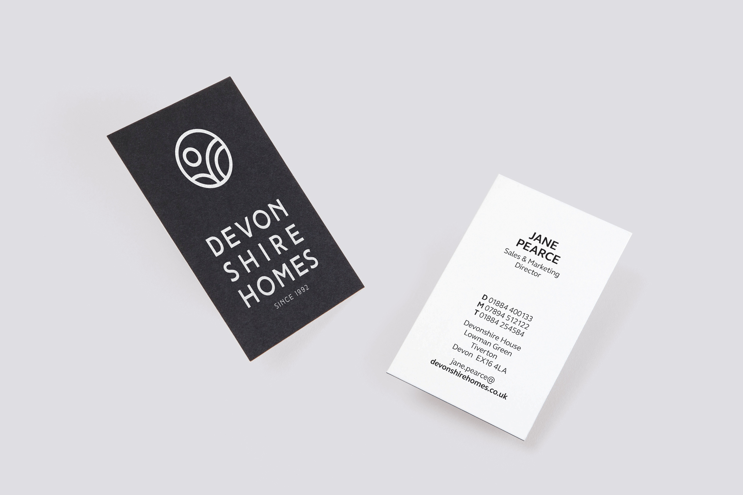Devonshire Homes - Brand development