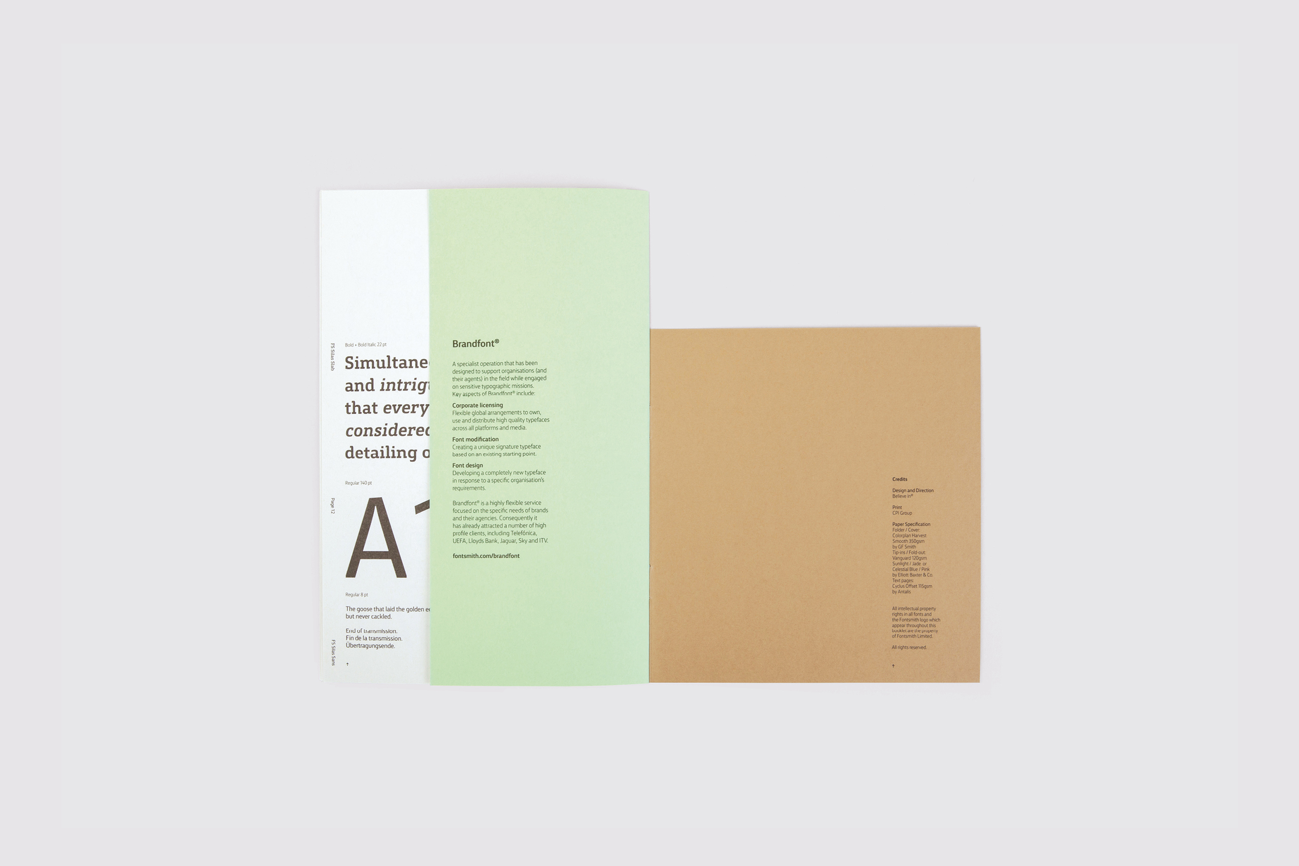 Fontsmith - FS Silas launch