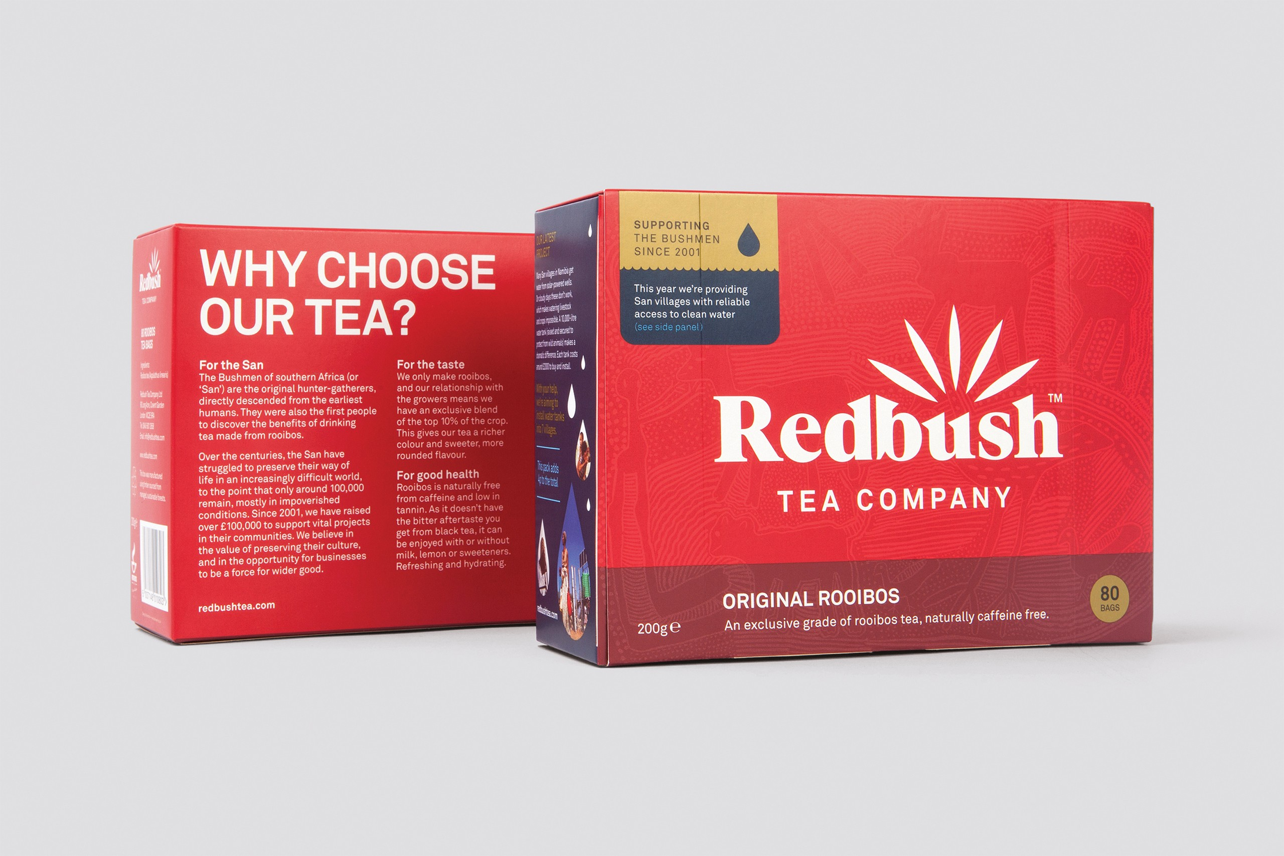 Redbush Tea Company - Brand & packaging
